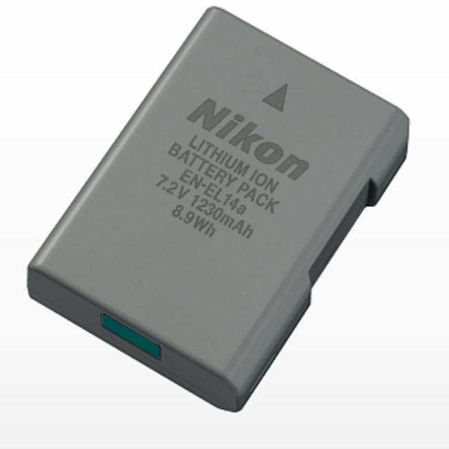 【Nikon】EN-EL14a 原廠鋰電池(公司貨)