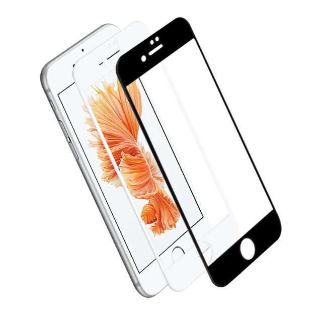 【LUCCIDA】Apple iPhone 6/6S Plus(9H鋼化玻璃貼-3D滿版)