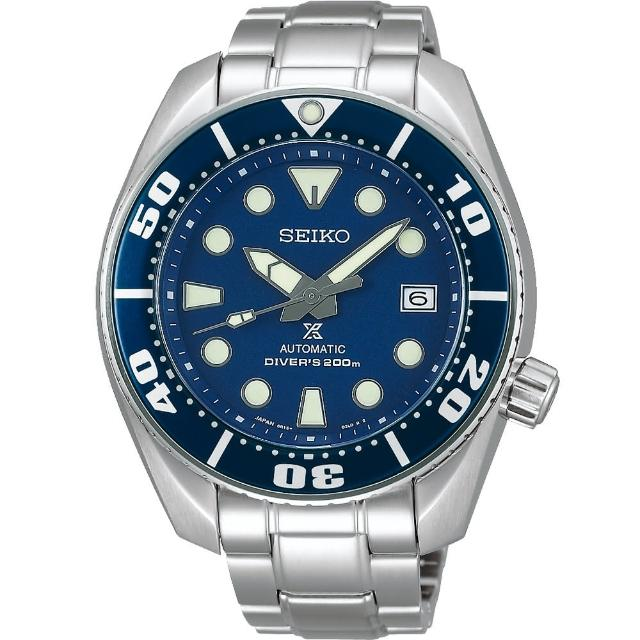 【SEIKO】Prospex SCUBA 200米潛水機械錶-45mm(6R15-00G0A  SBDC033J)