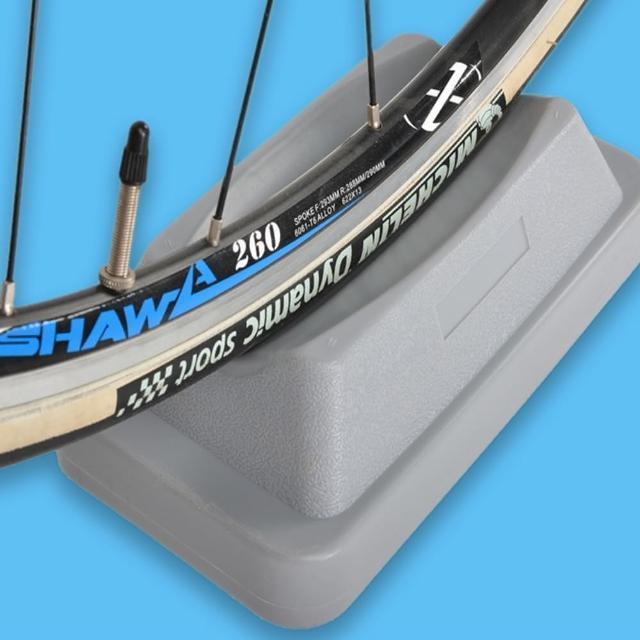 【May Shop】山地自行車騎行台室內訓練台前輪固定架前輪墊配件