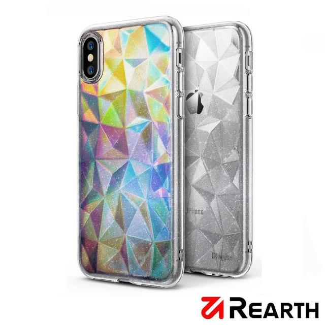 【Rearth】Apple iPhone X Air Prism 晶鑽保護殼