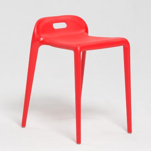 【IDEA】紗曼可提式圓角設計椅/休閒椅(經典四色)