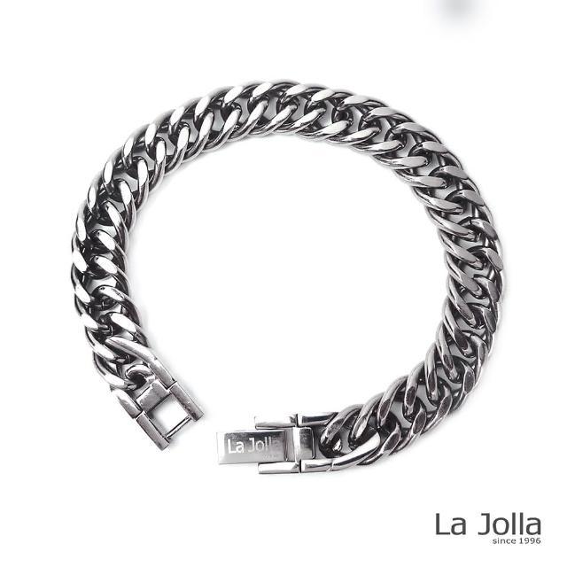 【La Jolla】經典伸卡球 純鈦鍺手鍊(20.5cm)