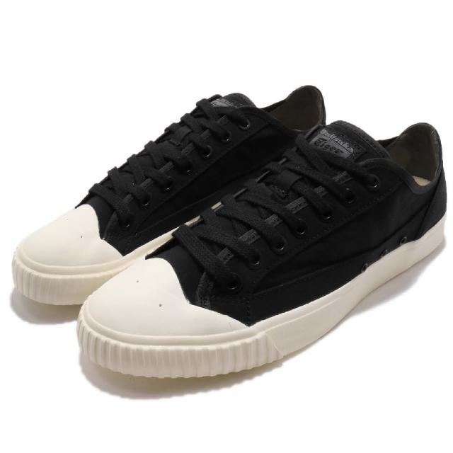【asics 亞瑟士】OK Basketball LO RB 男鞋 休閒鞋 奶油頭 復古 穿搭 黑 米白(D844N-9090)