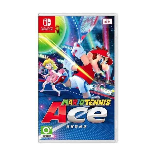【Nintendo 任天堂】瑪利歐網球:王牌高手(中文版)