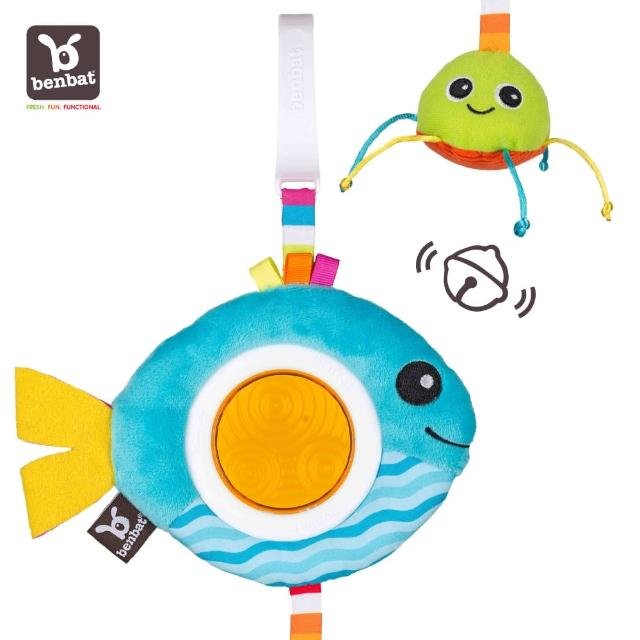 【Benbat】鈴鐺聲吊掛玩具(小丑魚)
