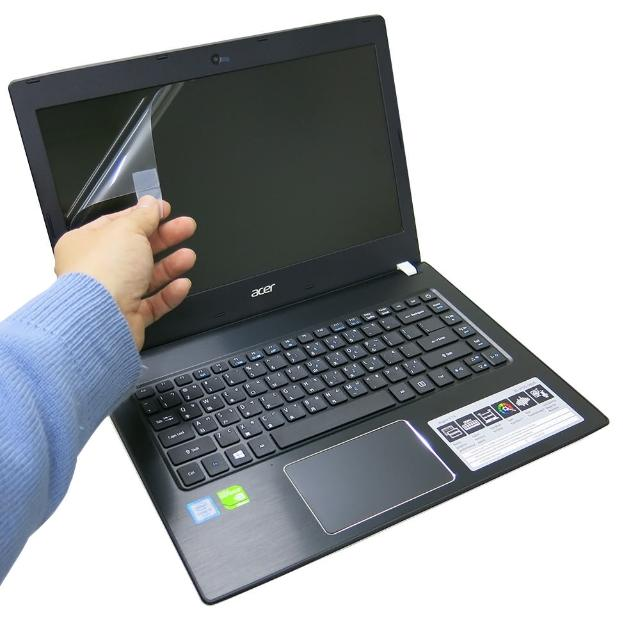 【Ezstick】ACER Aspire E5-475 G 靜電式筆電LCD液晶螢幕貼(可選鏡面或霧面)