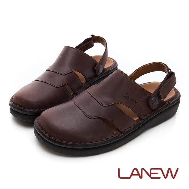 【La new】雙密度PU涼鞋(男24240550)