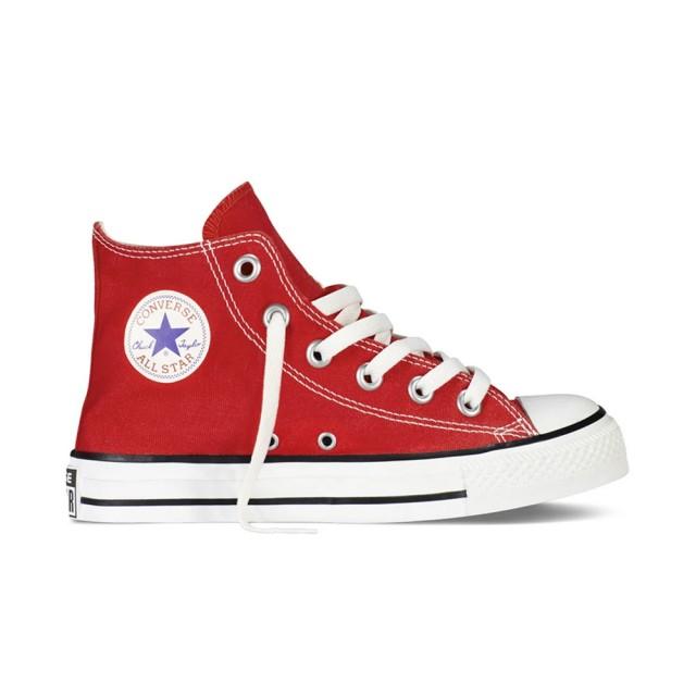 【CONVERSE】Chuck Taylor All Star-3J232C-紅-(中童高筒休閒鞋)