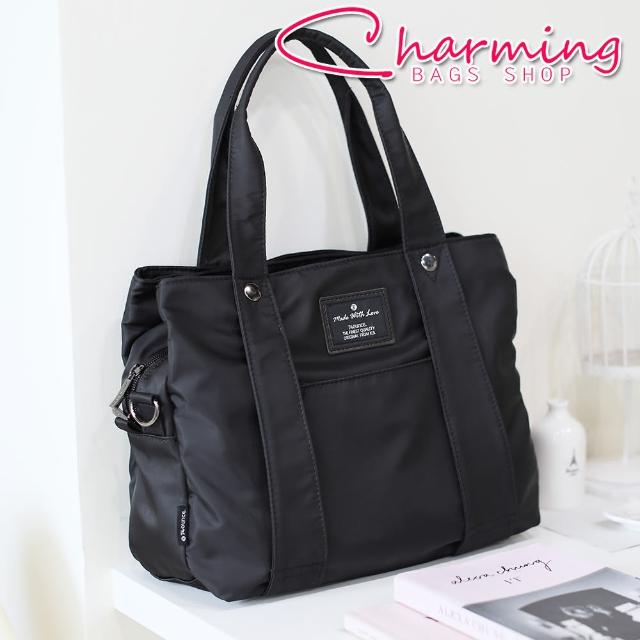 【Charming Bags】多夾層設計手提側背包(LG-798)
