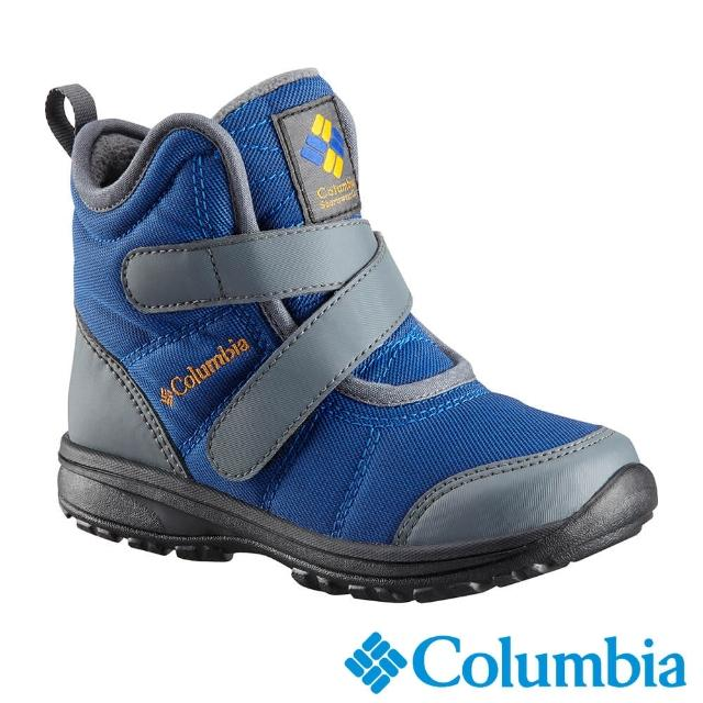 【Columbia 哥倫比亞】童款--Omni-Tech保暖防水雪靴 UBY59510(UBY59510BT / 短靴.靴子.雪鞋)