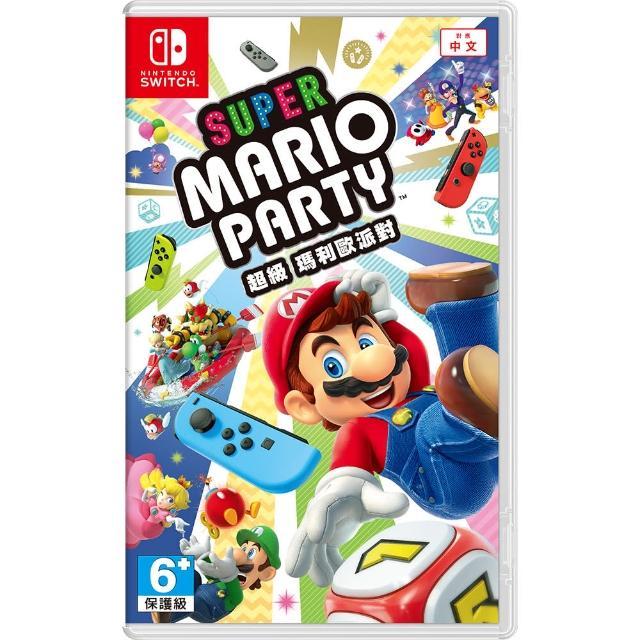 【Nintendo 任天堂】超級瑪利歐派對(中文版)