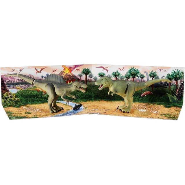 【TAKARA TOMY】TOMICA多美動物園 - AG02 恐龍禮盒組