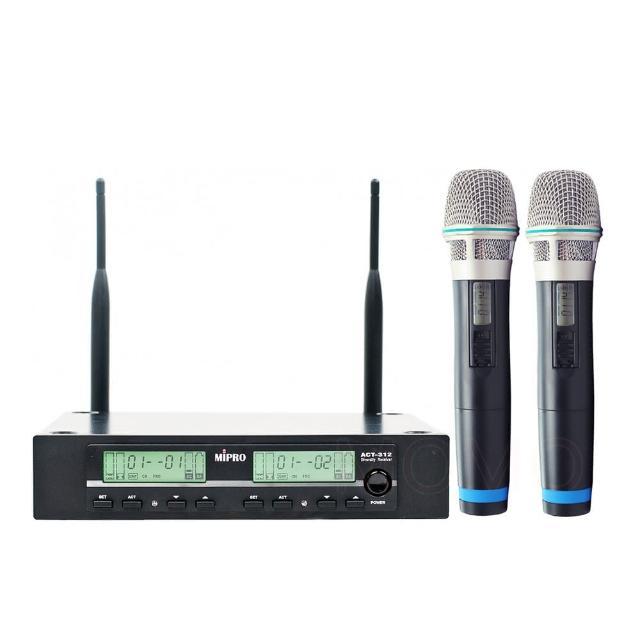 【MIPRO】ACT-312 PRO(UHF 無線麥克風/MU-80音頭/ACT-32H管身)