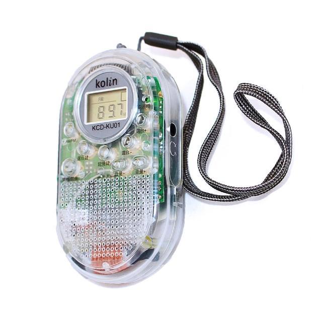 Kolin歌林透明數位收音機(KCD-KU01)