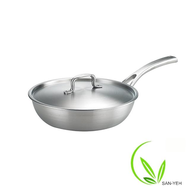 SanYeh三葉316頂級健康概念養生平底鍋(24cm)