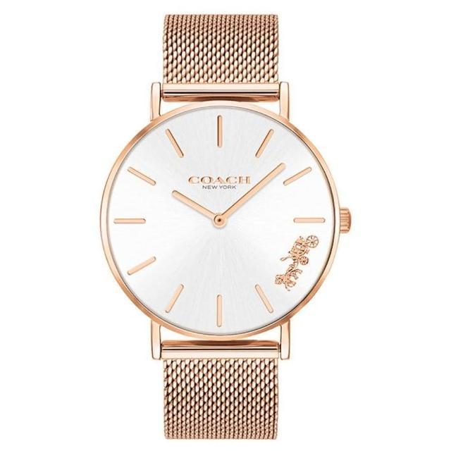 【COACH】時尚動人耀眼腕錶/米蘭帶(14503126)