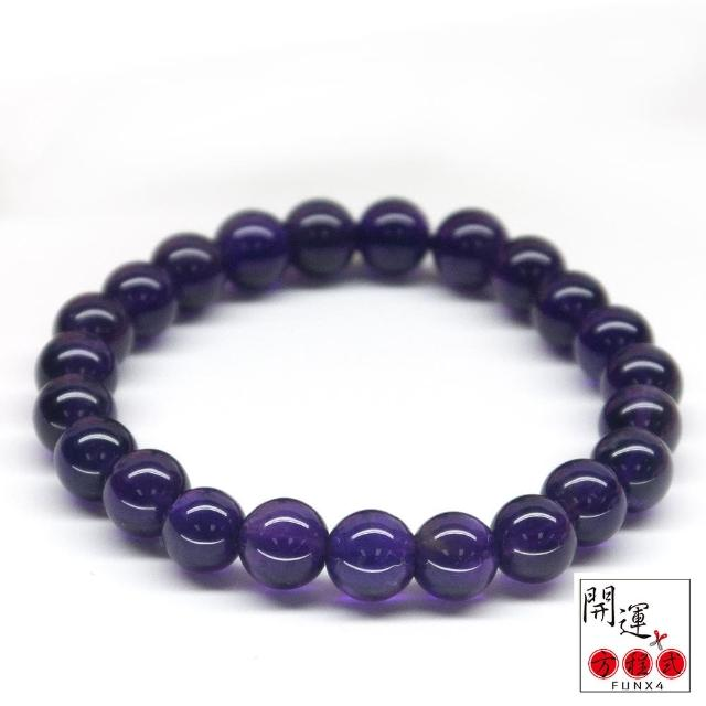【開運方程式】夢幻烏拉圭紫水晶6mm手珠