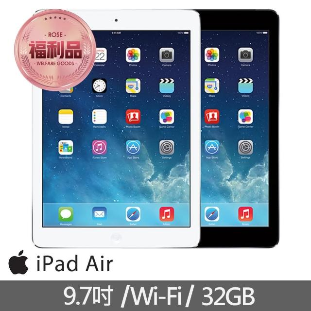 【Apple 蘋果】福利品 iPad Air Wi-Fi 32GB 平板電腦(A1474)