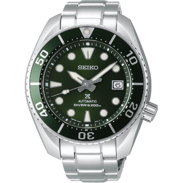 【SEIKO 精工】Prospex 兩百米潛水錶綠水鬼(6R35-00A0G SPB103J1)