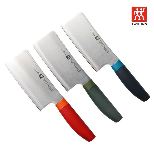 【ZWILLING 德國雙人】Now  S  剁刀-15cm(萊姆綠/莓果藍/石榴紅3色任選)