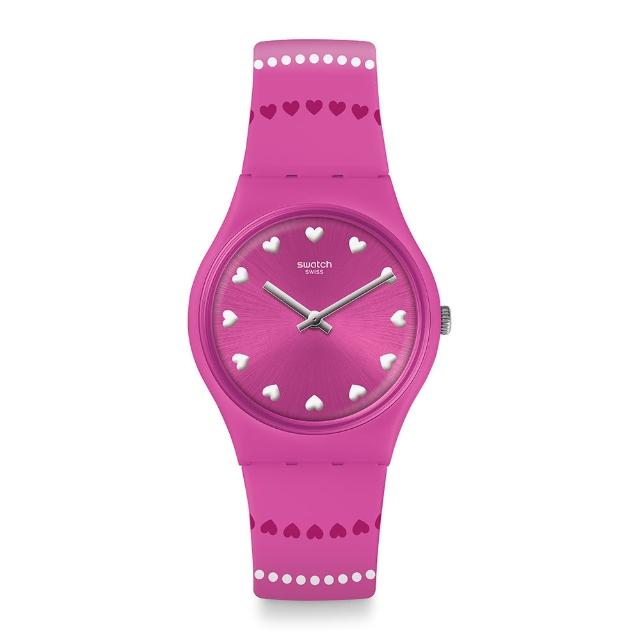 【SWATCH】Love is in the Air 系列手錶 COEUR DE MANEGE 愛情摩天輪(34mm)