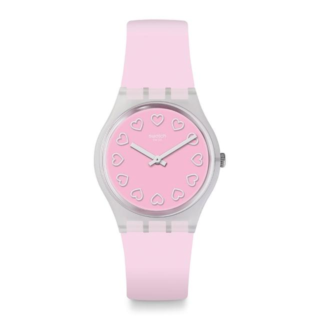 【SWATCH】Love is in the Air 系列手錶 ALL PINK 就是粉紅(34mm)