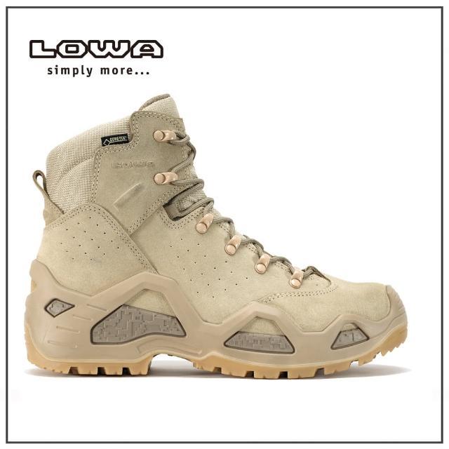 【LOWA】男 中筒 輕量多功能軍用鞋 淺沙漠 Z-6S GTXR C(LW310688-0410)