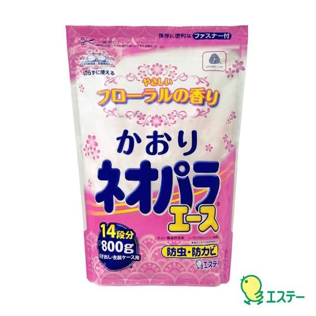 【日本雞仔牌】便利防蟲劑小包(花香800g)