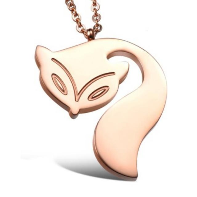 【I-Shine】狐仙祈願狐狸鈦鋼項鍊(狐仙祈願)