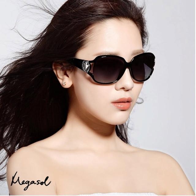 【MEGASOL】寶麗萊UV400偏光太陽眼鏡(Gucci設計師圖騰款MS3043)