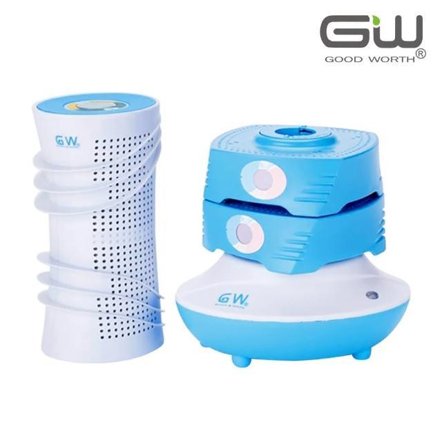 【GW 水玻璃】水玻璃直筒疊疊樂除濕機(快速還原無毒環保)