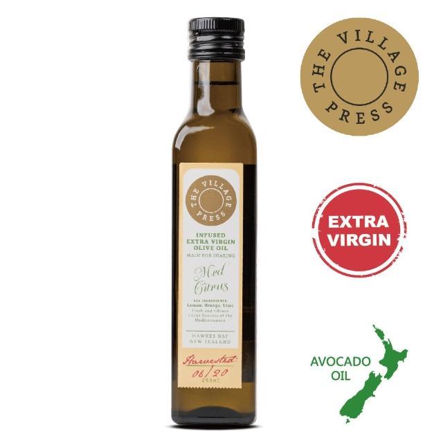【壽滿趣- 紐西蘭廚神系列】頂級冷壓初榨地中海柑橘風味橄欖油(250ml 單瓶散裝)