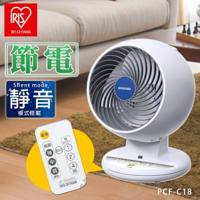 【IRIS】7吋氣流循環扇 附遙控器 PCF-C18