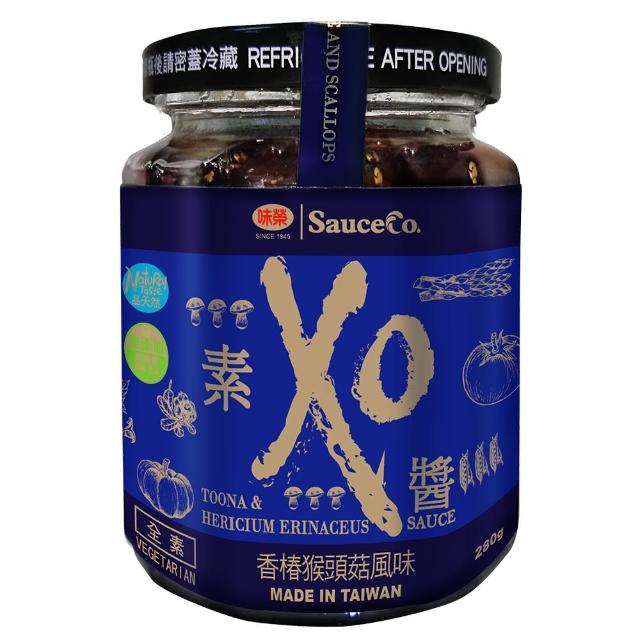 【味榮】素XO醬-香菇猴頭菇風味(280g)