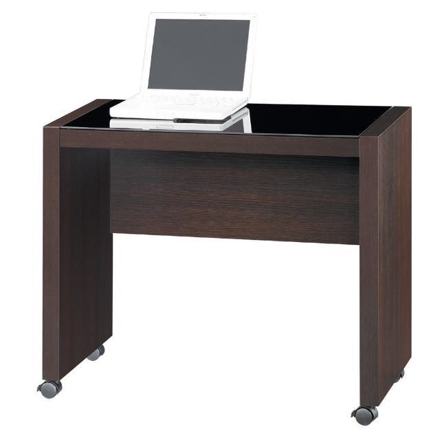【雅博德】胡桃木色活動電腦書桌(工作桌/書桌)