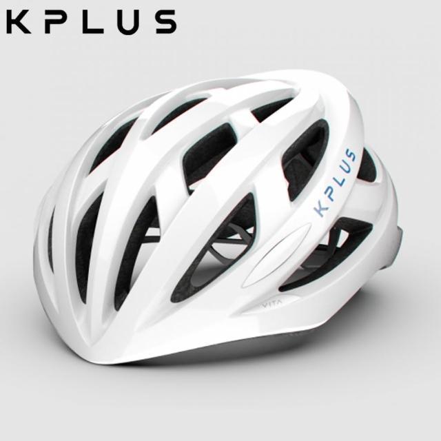 【KPLUS】S系列公路競速-VITA Helmet單車安全帽-白藍
