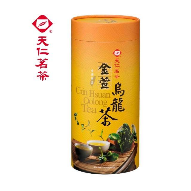 【天仁茗茶】天仁茗品金萱烏龍茶 450g