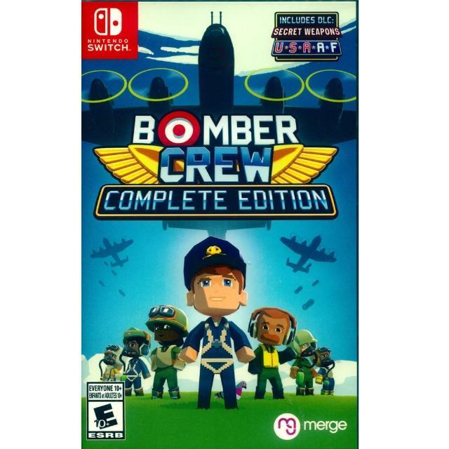 【Nintendo 任天堂】NS Switch 模擬轟炸機小隊 完整版 英文美版(BOMBER CREW Complete Edition)