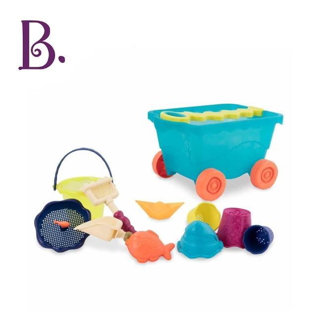 【B.Toys】挖挖兵拉拉車(海洋藍)