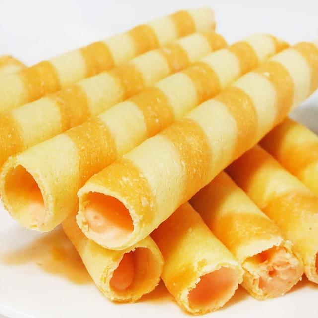 【惠香】爆漿 起司威化捲150g(Wasuka團購美食 熱銷捲心酥 Cheese口味)