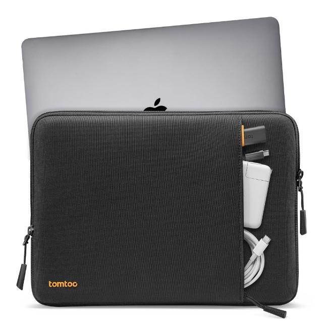 【tomtoc】360°完全防護筆電包內袋 黑 適用15吋 USB-C MacBook Pro 2016到2019(Apple MacBook Pro)