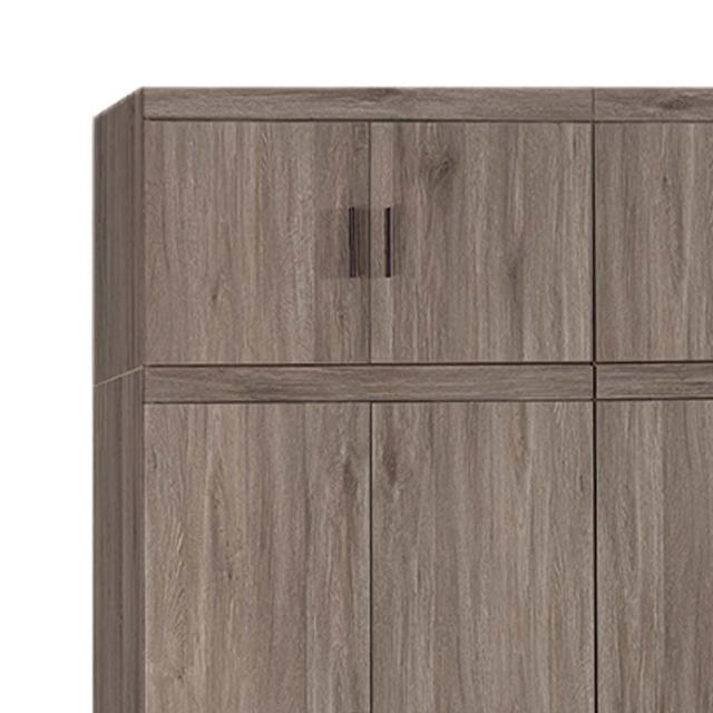 【H&D】麥汀娜古橡木2.6尺被櫥(衣櫥 衣櫃 被櫥)
