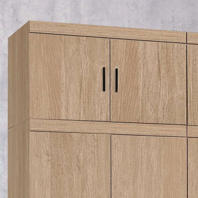 【H&D】麥瑞特黃橡木2.6尺被櫥(被櫥 櫥櫃 衣櫃 收納櫃 置物櫃 櫃)