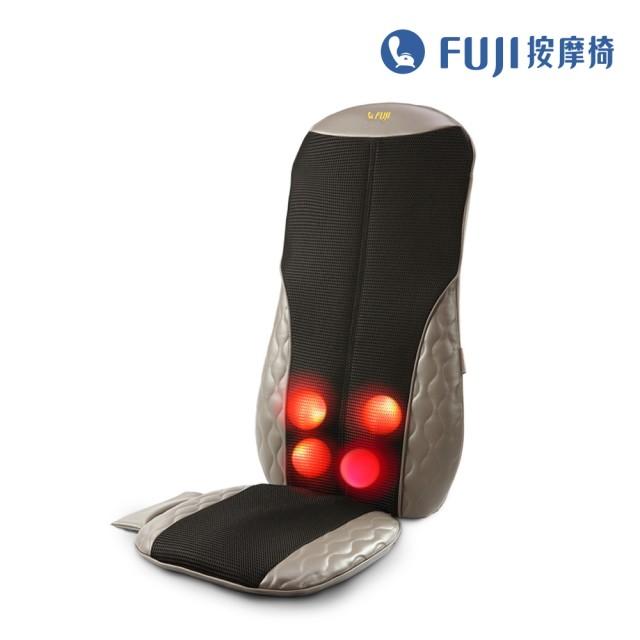 【FUJI】巧折行動按摩椅 FG-256(按摩背墊;按摩椅;背部按摩)