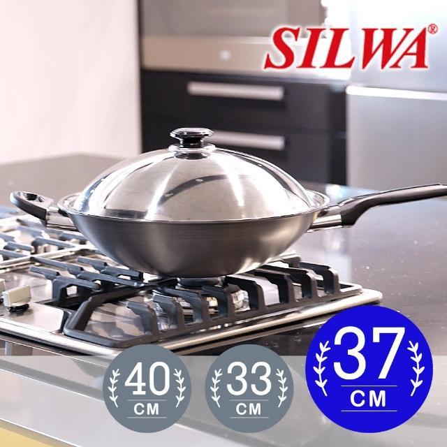 【西華SILWA】冷泉科技超厚合金炒鍋37cm