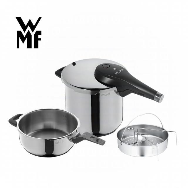 【WMF】PERFECT Premium 快力鍋二件套組 3.0/6.5L(壓力鍋)