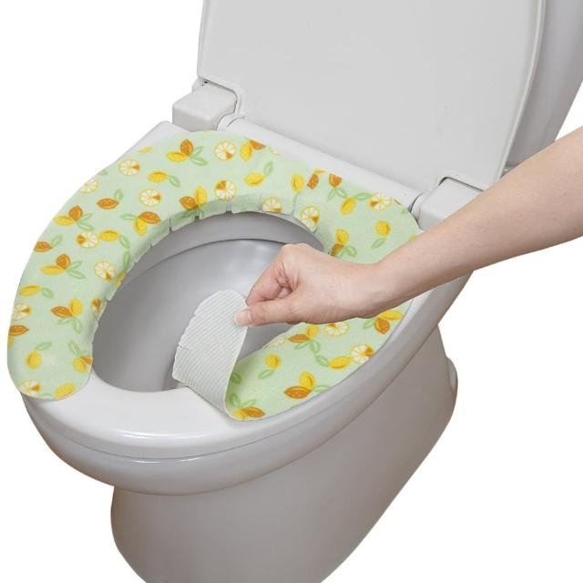【日本製造SANKO】兒茶素抗菌防臭馬桶座墊貼(檸檬)