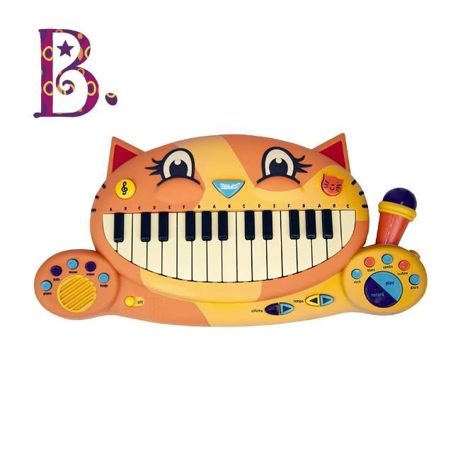 【美國B.Toys】大嘴貓鋼琴