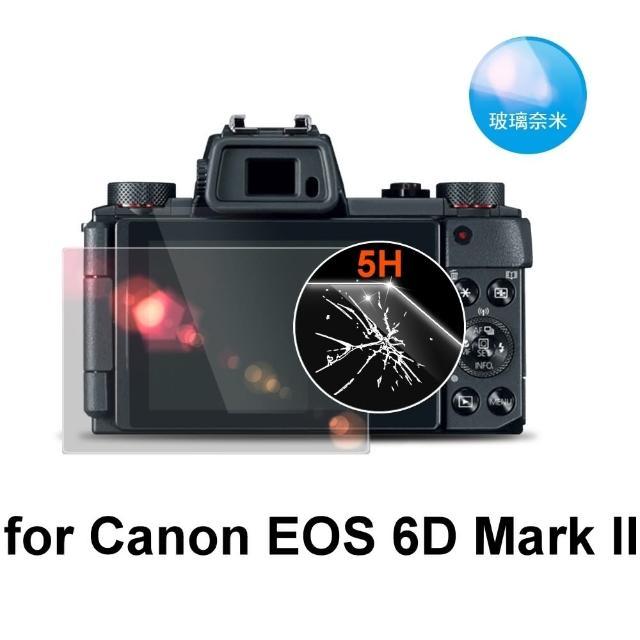 【D&A】Canon EOS 6D Mark II 日本原膜螢幕貼(NEWAS玻璃奈米型)